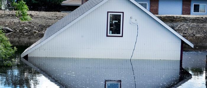 Image of House Under Water - Flood